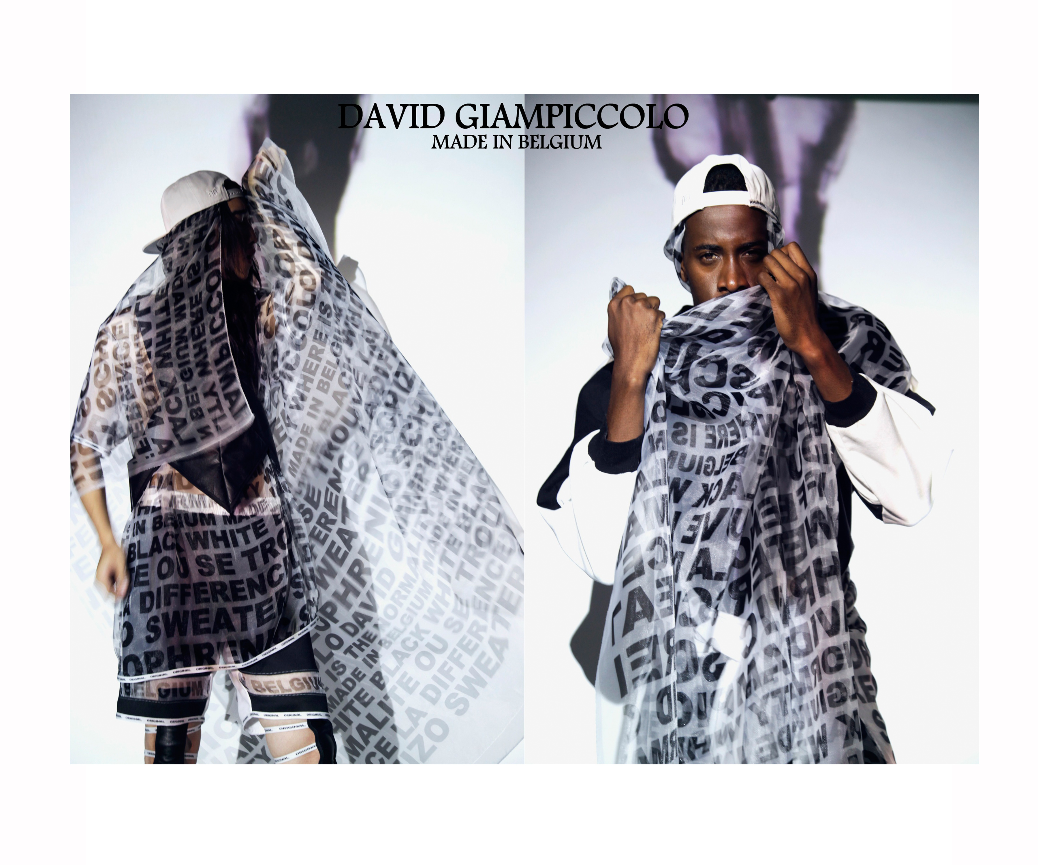Bukunmi Grace Ajanaku David Giampiccolo SCHIZO Fall Winter 2014 Image Six