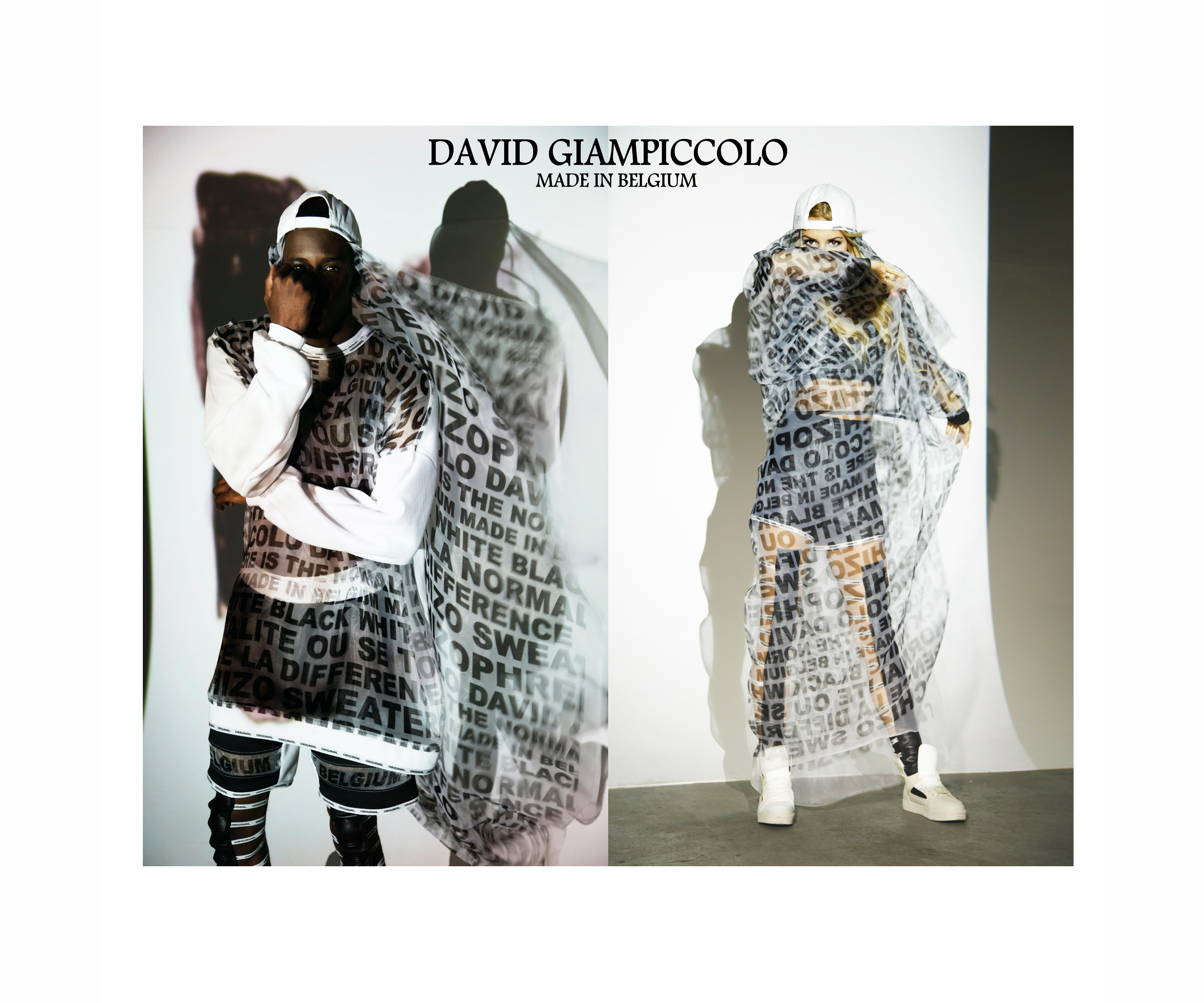 Bukunmi Grace Ajanaku David Giampiccolo SCHIZO Fall Winter 2014 Image Two