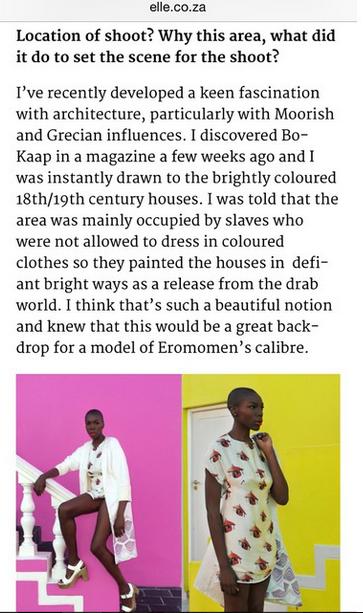 Bukunmi Grace ELLE Mag Eromomen 1st Class Fashion