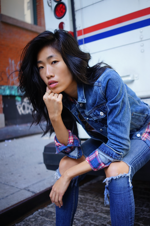 Vera Wu Ford Models Bukunmi Grace