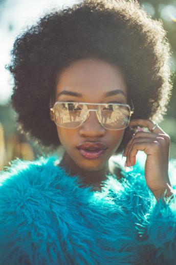 Bukunmi Grace Los Angeles Stylist Emily Soto Afro Vogue
