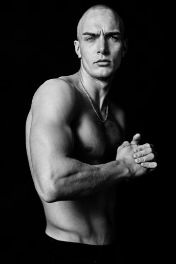 Bukunmi Grace Los Angeles Stylist Ford Models Man portrait