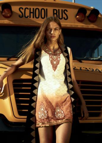 Bukunmi Grace Los Angeles Stylist Next Models Bus