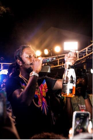 Grace Bukunmi Popcaan Jamaica Dazed SumFest